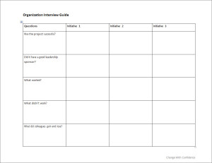 Organization interview guide change with confidence organization interview guide maxwellsz